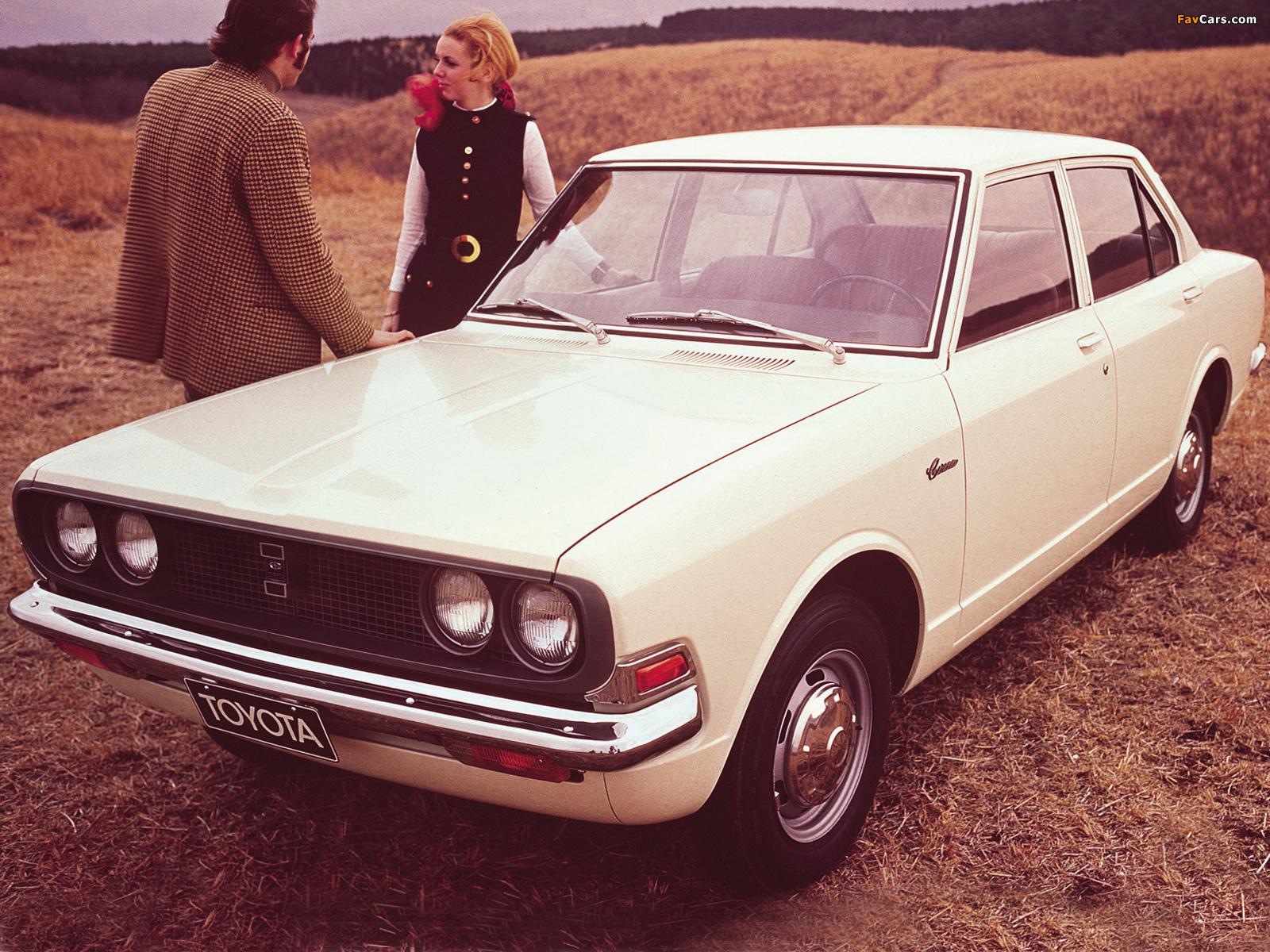 Toyota Corona 1969 73 Wallpapers 1600x1200