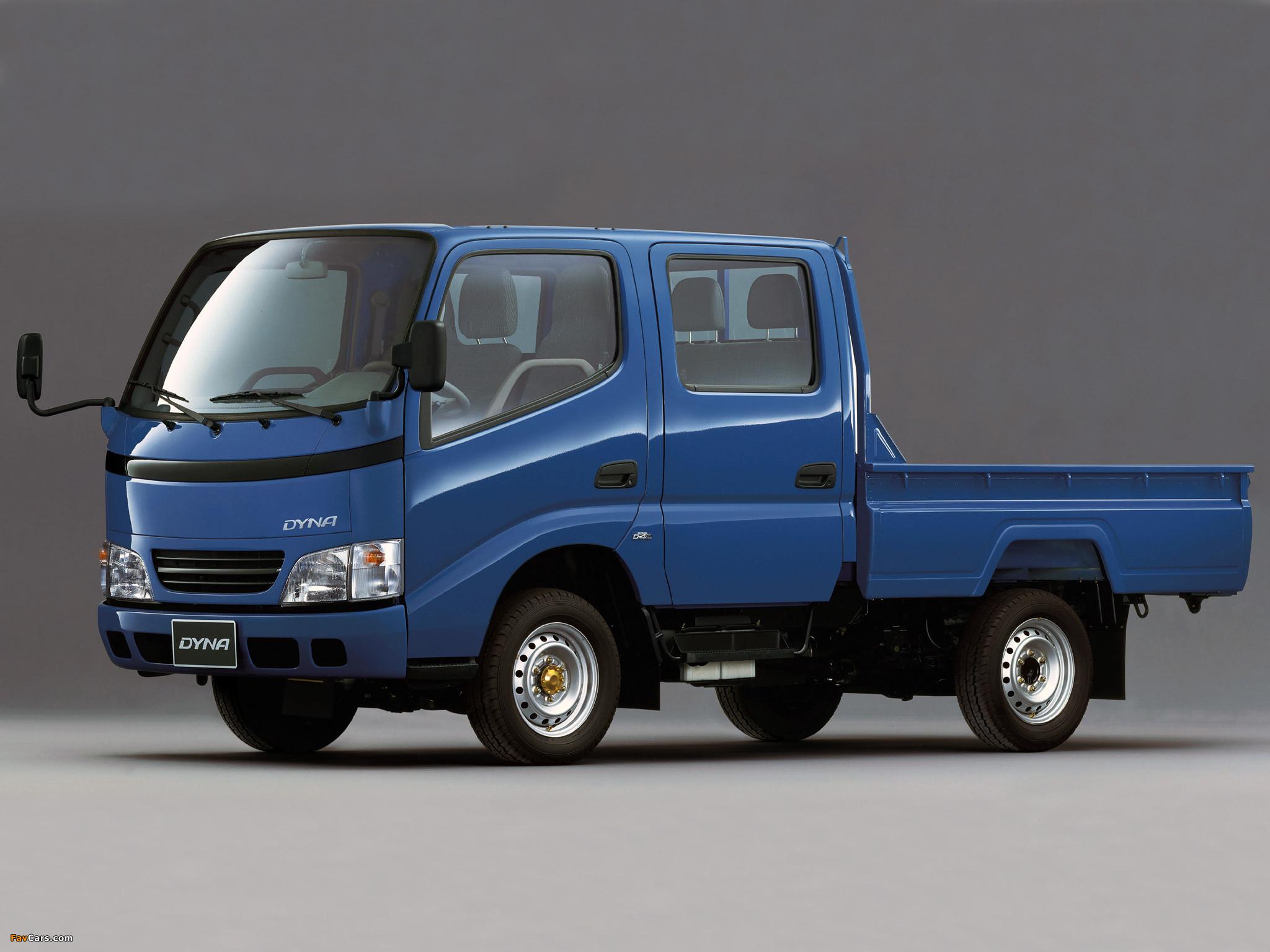Toyota Dyna Truck Dimensions