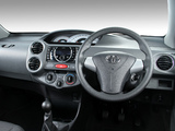 Images of Toyota Etios Sedan ZA-spec 2012