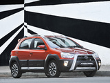 Photos of Toyota Etios Cross ZA-spec 2014