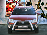 Toyota Etios Cross ZA-spec 2014 wallpapers