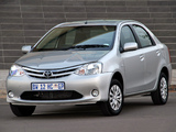 Toyota Etios Sedan ZA-spec 2012 wallpapers