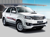TRD Toyota Fortuner Sportivo 2011 photos