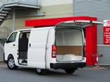 Photos of Toyota Hiace LWB Van AU-spec 2011
