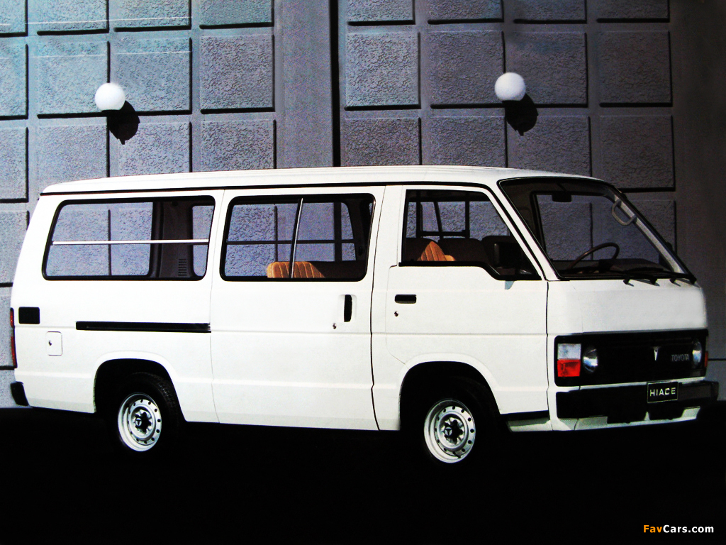 wallpapers of toyota hiace - photo #10