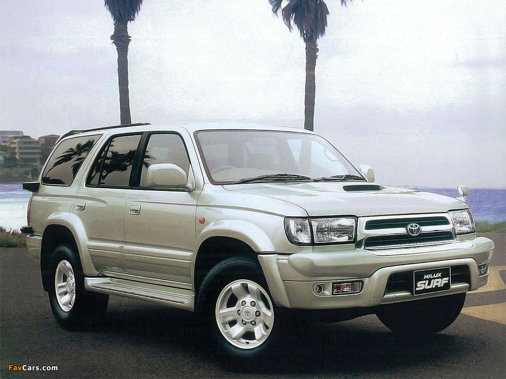 Toyota Hilux Surf N185 1995 2002 Images 1024x768