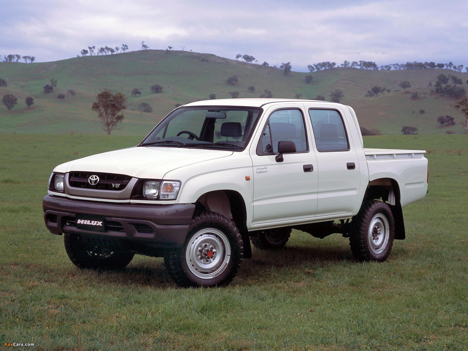 Photos Of Toyota Hilux Double Cab Au Spec 2001 05 1600x1200