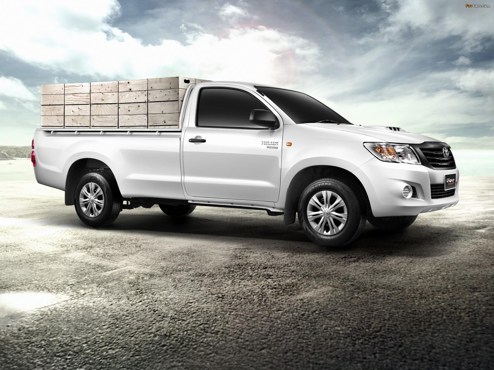 2014 toyota tacoma vigo thailand new car release and price 2012 autos weblog. Black Bedroom Furniture Sets. Home Design Ideas