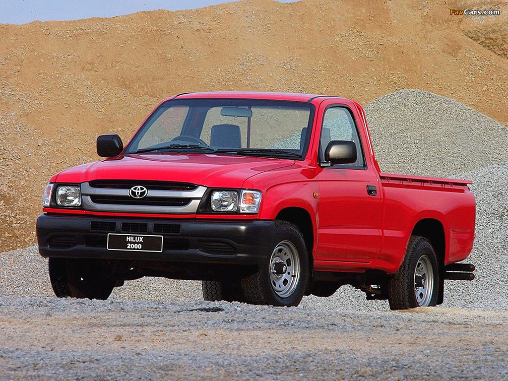 Toyota Hilux 2000 Single Cab Za Spec 2001 05 Photos 1024x768