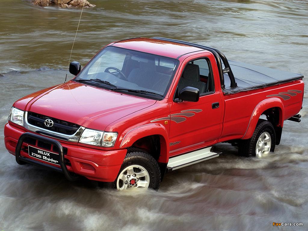Toyota Hilux 2700i Raider Single Cab Za Spec 2001 05