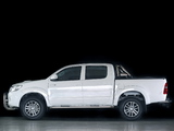 Toyota Hilux Dakar Double Cab 2014 wallpapers