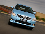 Toyota Innova ZA-spec 2011 wallpapers