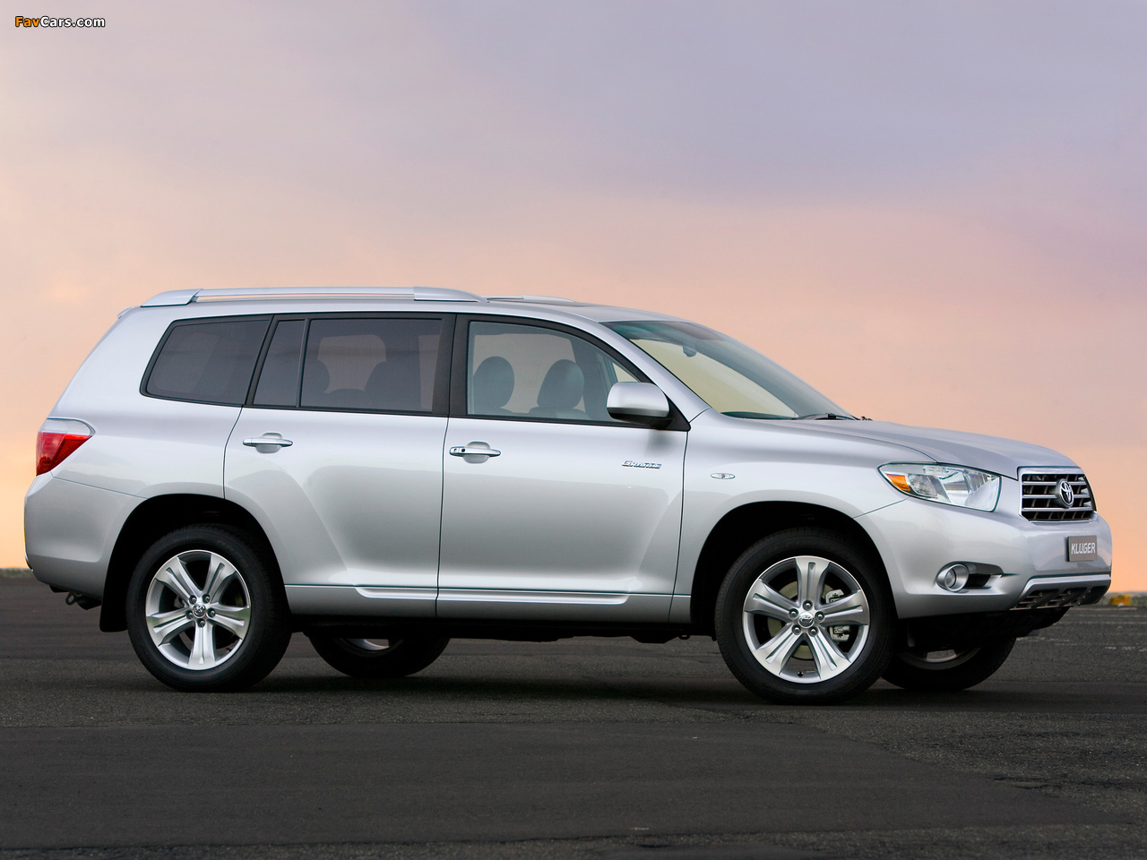pictures of toyota kluger 2007�10 1280x960