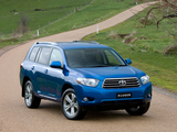 Pictures of Toyota Kluger 2007–10