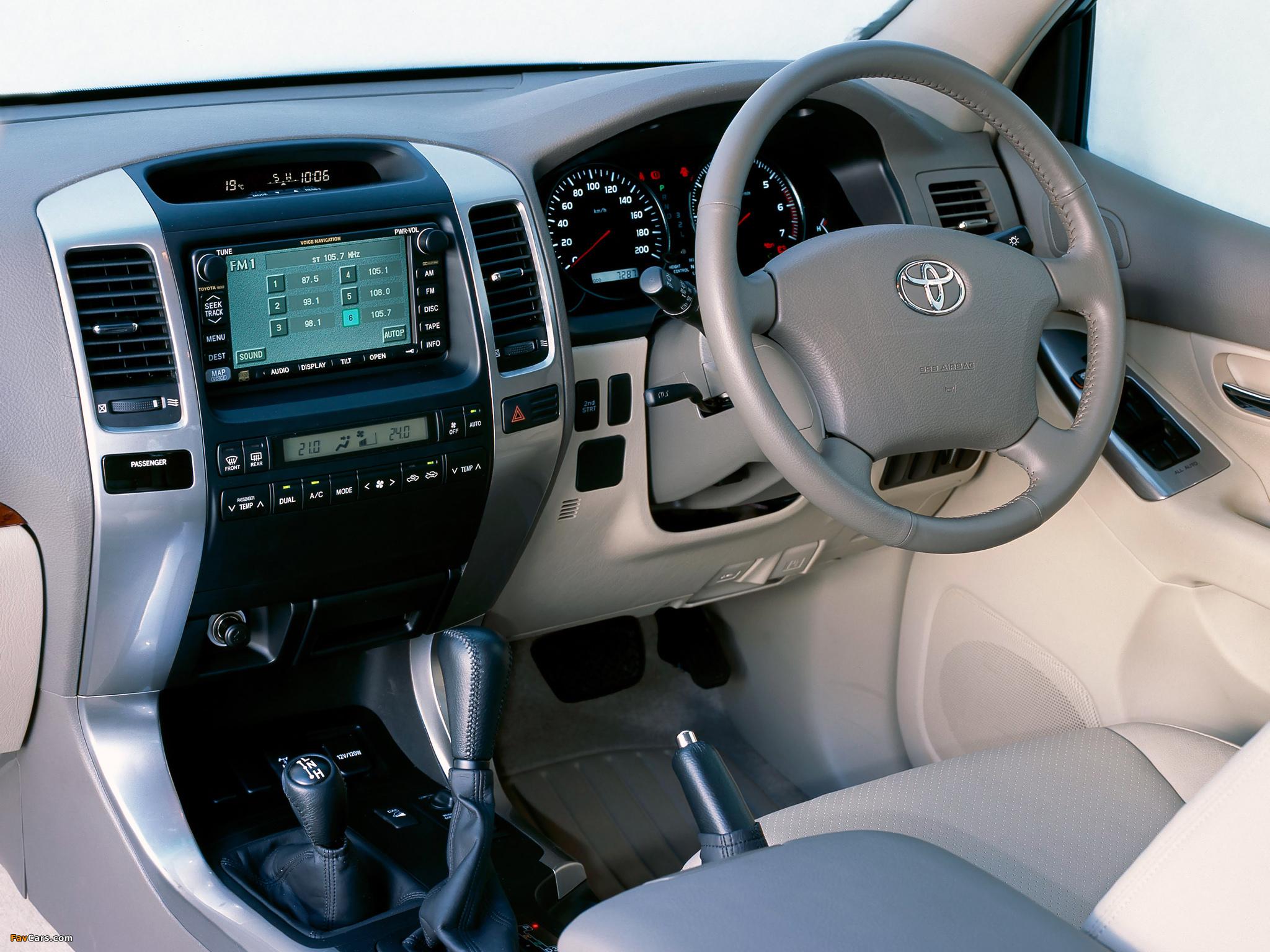 Images Of Toyota Land Cruiser Prado Grande 5 Door Au Spec J120w 2003 09 2048x1536