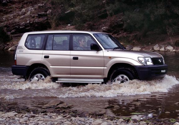 Prado Land Cruiser >> Toyota Land Cruiser Prado RV 5-door AU-spec (J95W) 1999–2002 pictures (1280x960)