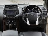 Toyota Land Cruiser Prado ZA-spec (150) 2013 pictures
