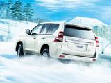 Toyota Land Cruiser Prado JP-spec (150) 2013 wallpapers