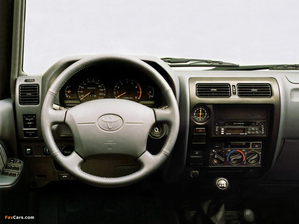 Toyota Land Cruiser 90 5-door (J95W) 1996–99 images (1024x768)