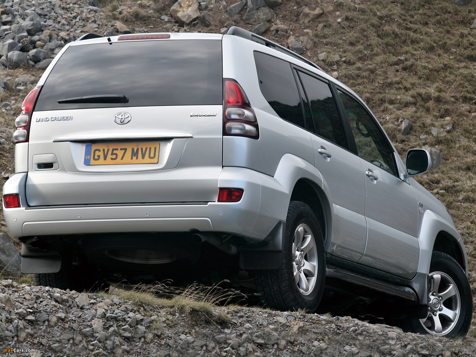 Toyota Land Cruiser Prado Invincible 5-door (J120W) 2007 images (1600