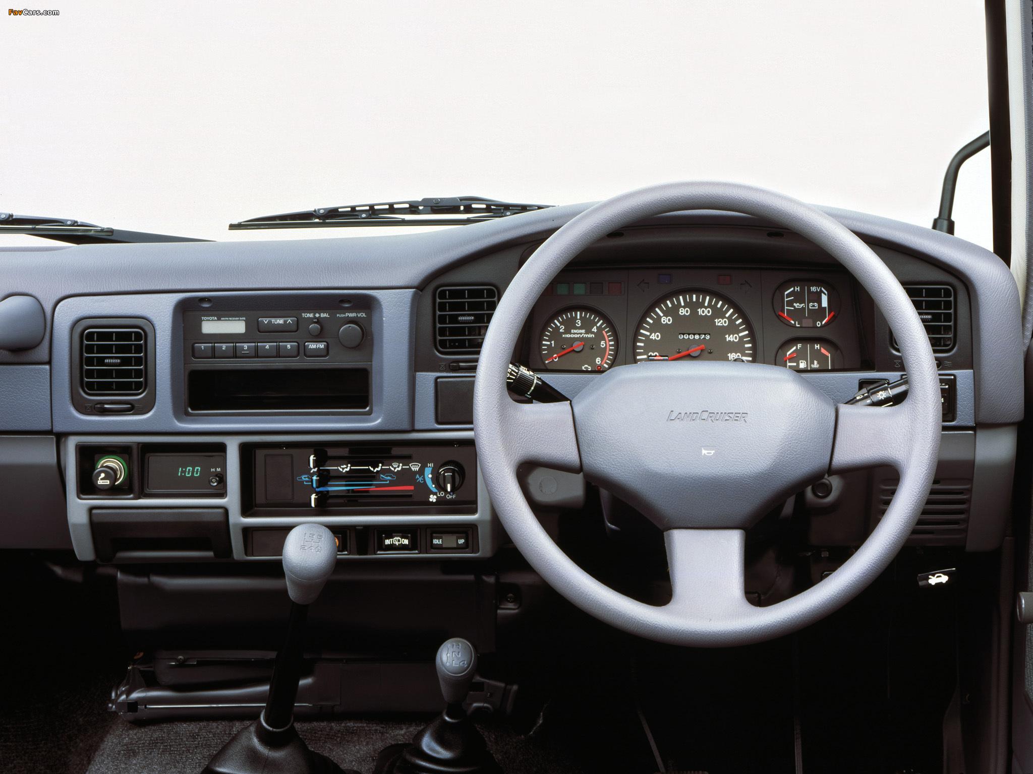 Wallpapers Of Toyota Land Cruiser Prado Lj71g 1990 96