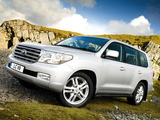 Images of Toyota Land Cruiser V8 UK-spec (VDJ200) 2007–12