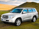 Photos of Toyota Land Cruiser V8 UK-spec (VDJ200) 2007–12