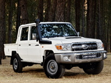 Photos of Toyota Land Cruiser Double Cab LX ZA-spec (J79) 2012