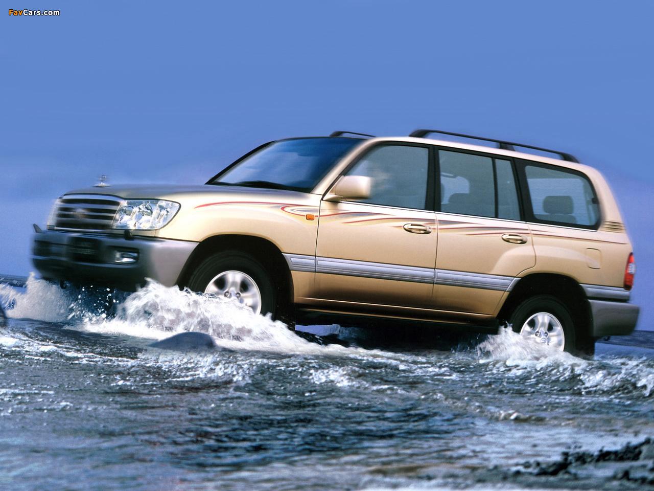 Pictures Of Toyota Land Cruiser 100 Vx R Cn Spec J100 101