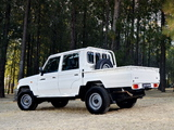 Pictures of Toyota Land Cruiser Double Cab LX ZA-spec (J79) 2012