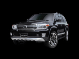 Pictures of DAMD Toyota Land Cruiser 200 Goldman Cruise 2012