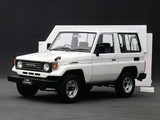 Pictures of Toyota Land Cruiser (BJ71V) 1985–90
