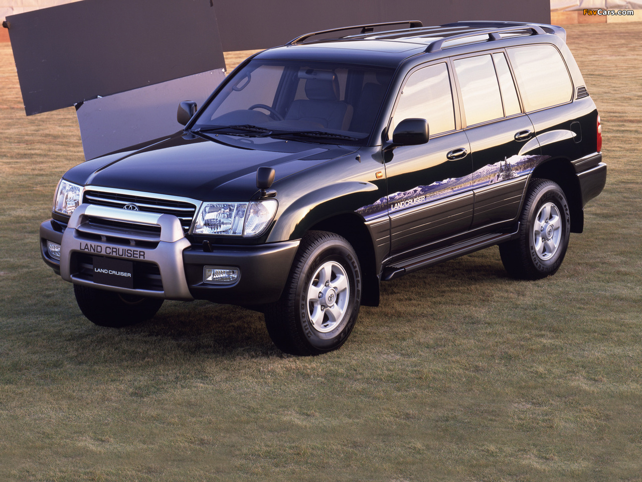 Toyota Land Cruiser 100 Van Vx Limited Field Version