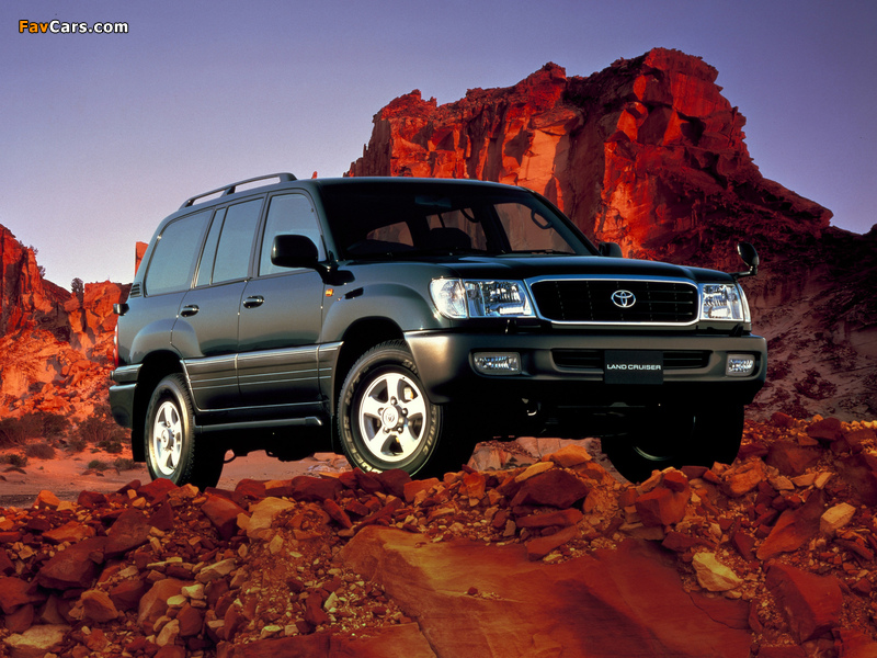Toyota Land Cruiser 100 Van Vx Limited G Selection Jp Spec