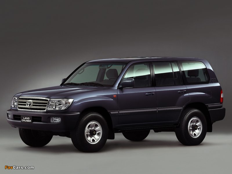 Toyota Land Cruiser 100 Vx Uae Spec J100 101 2005 07