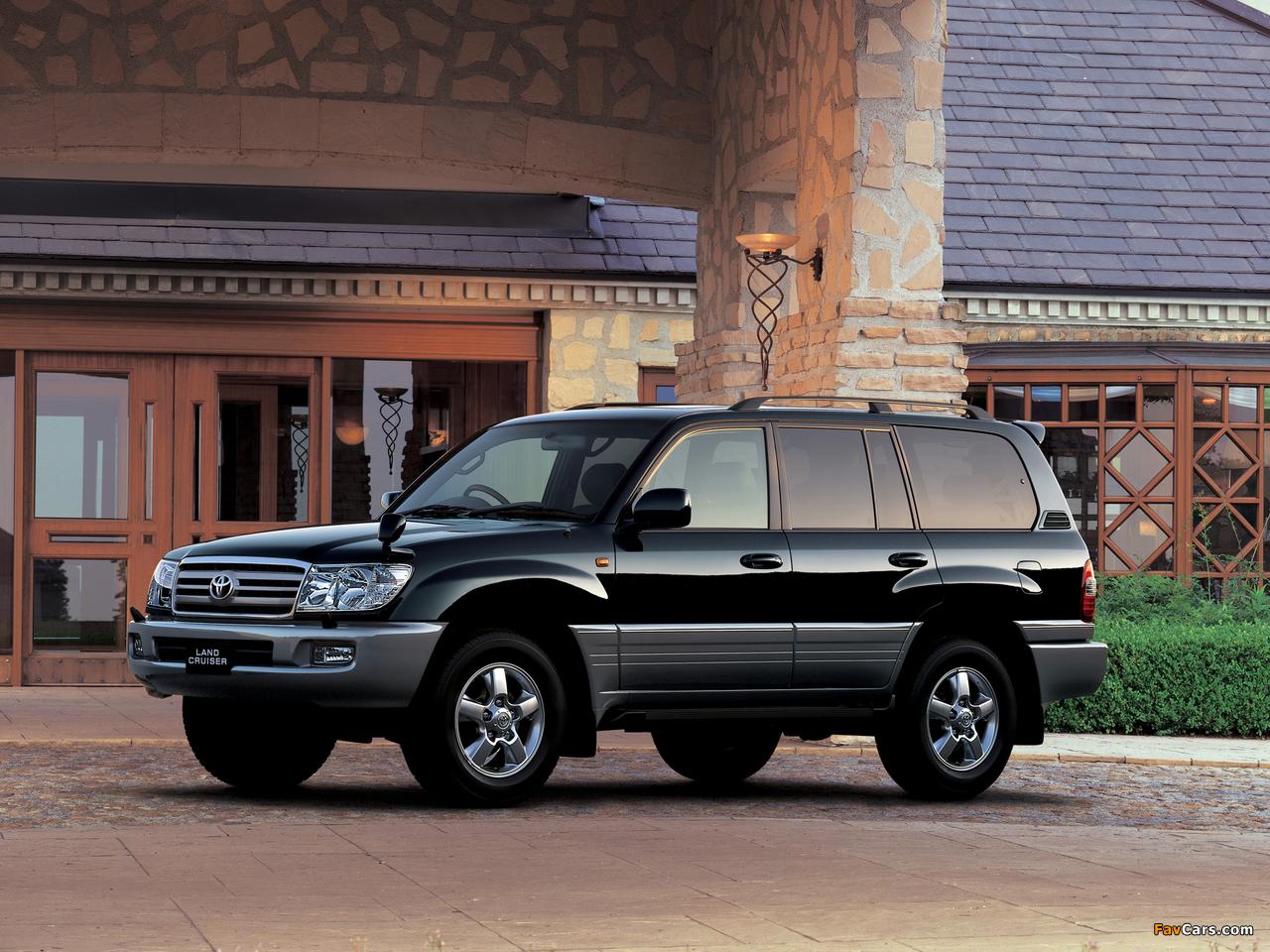 Toyota Land Cruiser 100 Wagon Vx Limited G Selection Touring Edition Jp Spec Uzj100w 2005 07