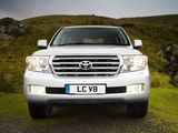 Toyota Land Cruiser V8 UK-spec (VDJ200) 2007–12 wallpapers