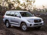 Toyota Land Cruiser 200 GXL AU-spec (VDJ200) 2012 wallpapers
