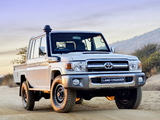 Toyota Land Cruiser Double Cab LX ZA-spec (J79) 2012 wallpapers