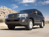 Toyota Land Cruiser US-spec (URJ200) 2012 wallpapers