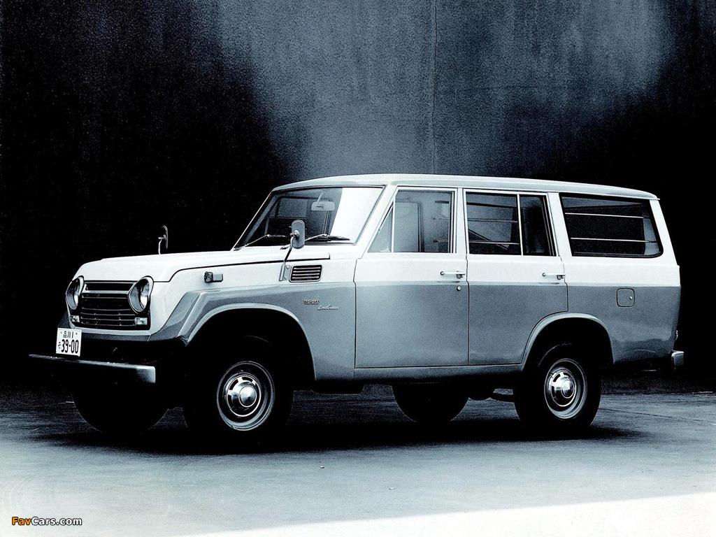 Toyota Land Cruiser 50 KQ JP-spec (FJ55V) 1967–75 wallpapers (1024 x ...