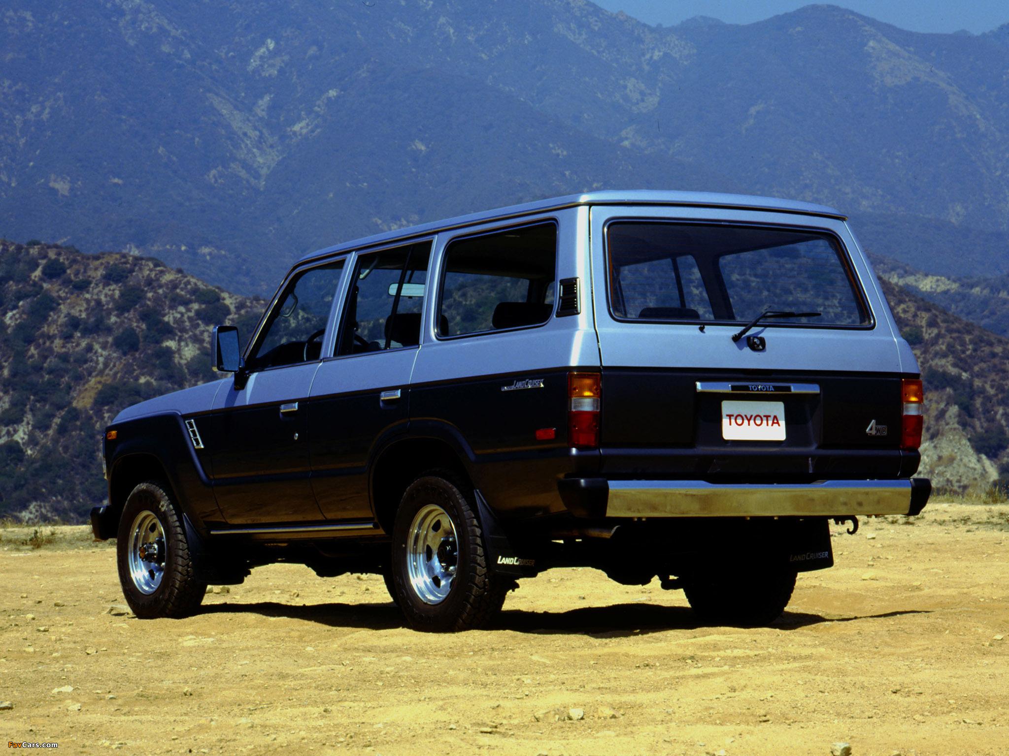 Toyota Land Cruiser 60 US-spec (FJ62) 1987�C89 images (2048x1536)