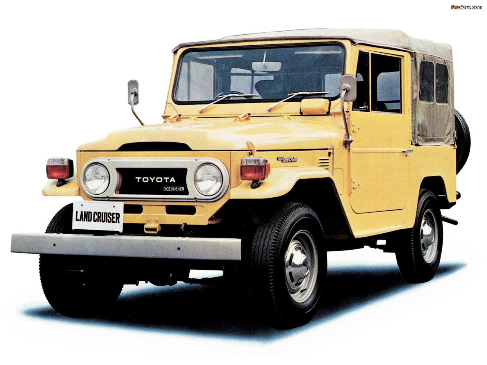 Wallpapers Of Toyota Land Cruiser Bj40 1973 79 1600x1200