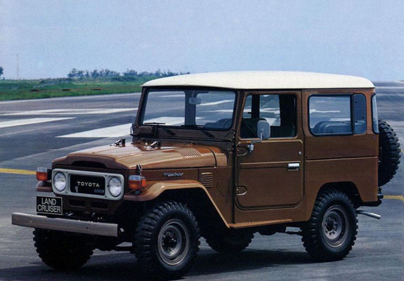 Toyota Bj 40 >> Wallpapers of Toyota Land Cruiser (BJ40VL) 1973–79 (640x480)