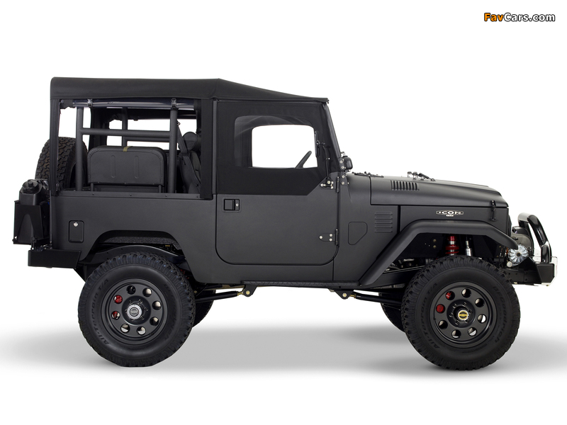 Toyota Land Cruiser Fj40 Wallpaper Wallpapers of Icon Toyota Land Cruiser Fj40 2007 800 x 600