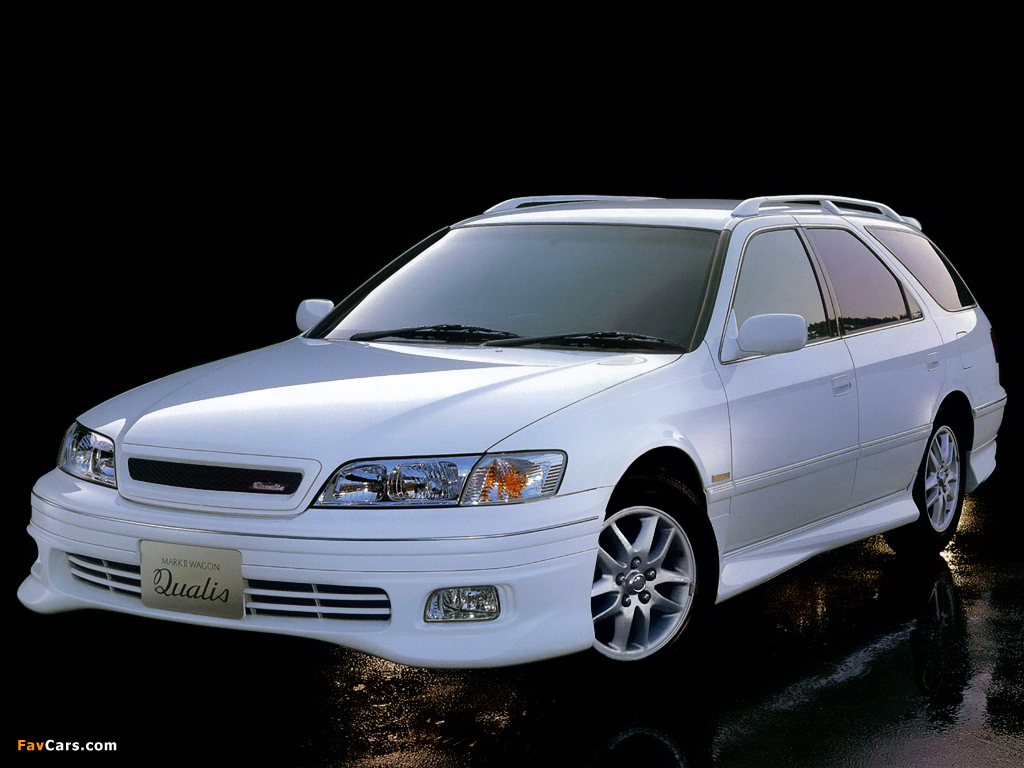Images Of Toyota Mark Ii Qualis Aero Sports Package V20w