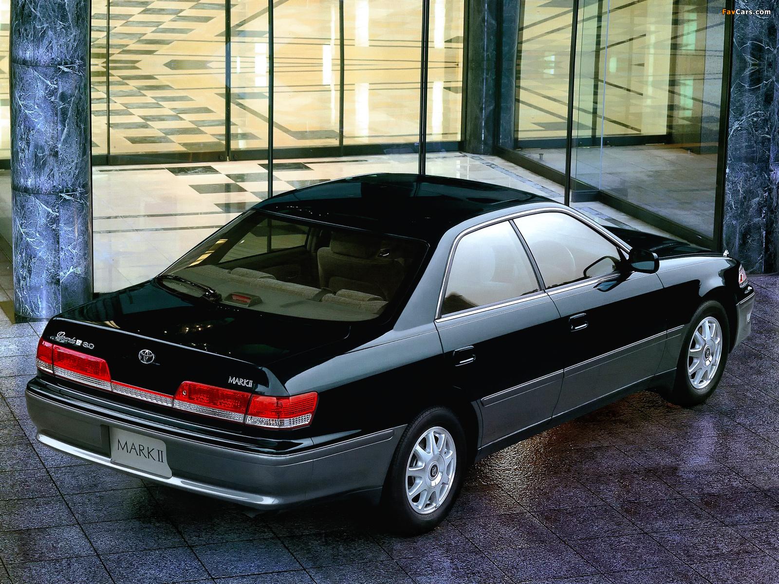 Тойота Марк II — фото, характеристики, описание, цена