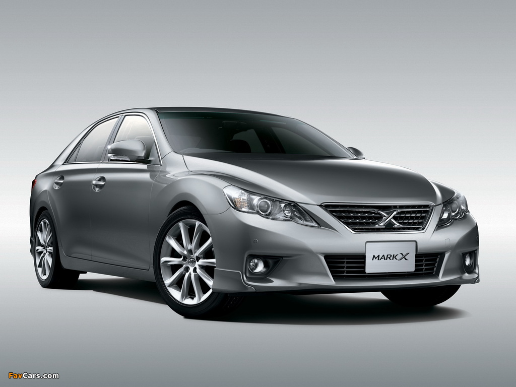 Wallpapers Of Toyota Mark X Sports Grx130 2009 1024x768