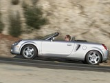 Photos of Toyota MR2 Spyder US-spec 2002–05