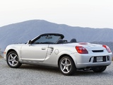 Toyota MR2 Spyder US-spec 2002–05 photos